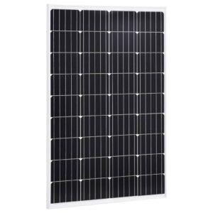 Painel solar 120 W alumínio monocristalino e vidro de segurança - PORTES GRÁTIS