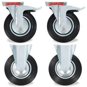 8 pcs rodas 200 mm - PORTES GRÁTIS