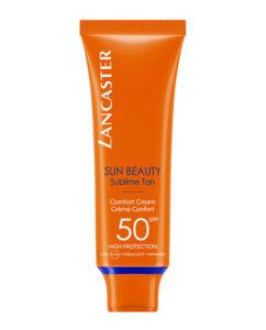 Protetor Solar Sun Beauty Comfort Touch Cream Gentle Tan SPF 50+