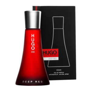 Perfume Mulher Deep Red Hugo Boss-boss EDP 50 ml