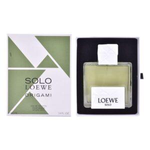Perfume Homem Solo Loewe Origami Loewe EDT 100 ml