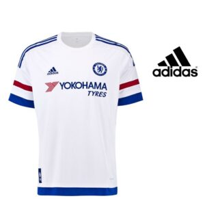 Adidas® T-Shirt Chelsea Oficial Branca Junior | Tecnologia Climacool®