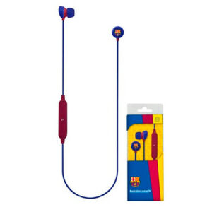 Auriculares Bluetooth com microfone para prática desportiva F.C. Barcelona Azul