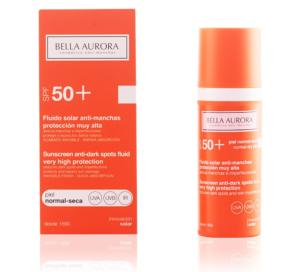 Fluido Solar Facial Anti-Manchas Bella Aurora SPF 50+