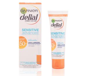 Protetor Solar Facial Sensitive Garnier Delial SPF 50+