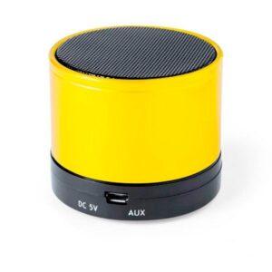 Altifalante Bluetooth SD FM Micro USB 3W 144936 Amarelo