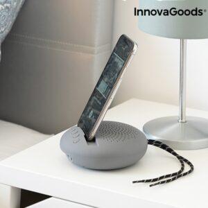 Altifalante sem fios com Suporte para Dispositivos Sonodock InnovaGoods Cinzento