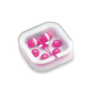 Auriculares de botão (3.5 mm) 143551 Fúchsia