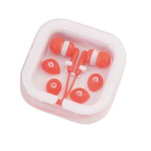 Auriculares de botão (3.5 mm) 143551 Vermelho