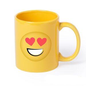 Caneca Emoji (370 ml)  Coração ESPECIAL B BROTHER