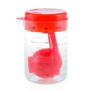 Conjunto de Cozinha (7 pcs) (500 ml) 144492 Vermelho