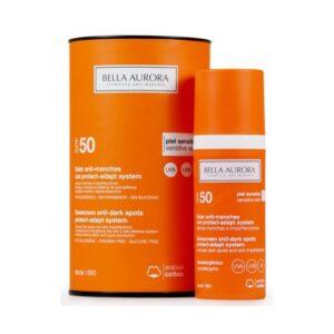 Protetor Solar Facial Anti-Manchas Protect System Bella Aurora SPF 50+