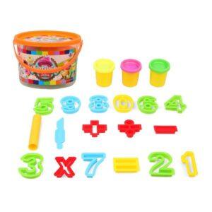 Jogo de Plasticina com Números 118643