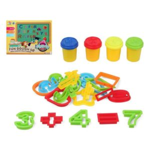 Jogo de Plasticina com Números