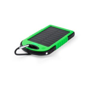 Power Bank Solar 4000 mAh Verde