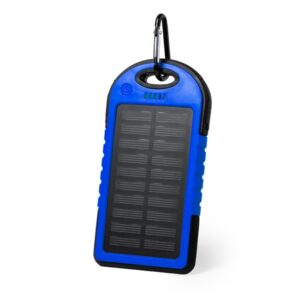 Power Bank Solar 4000 mAh Azul