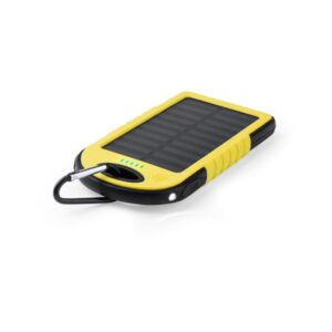 Power Bank Solar 4000 mAh Amarelo