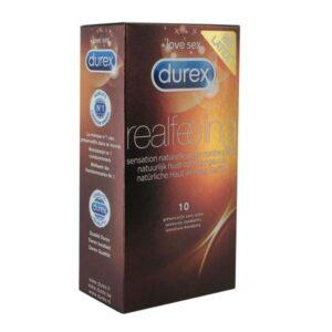 10 Preservativos Real Feeling Durex