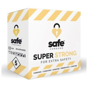 Pack de 5 ou 36 Preservativos Super Strong Safe