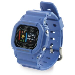 Pulseira de Atividade KSIX Retro Smart 200 mAh Azul
