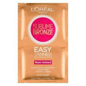 Toalhinhas Auto-Bronzeadoras Sublime Bronze L'Oreal Make Up (2 Unidades)
