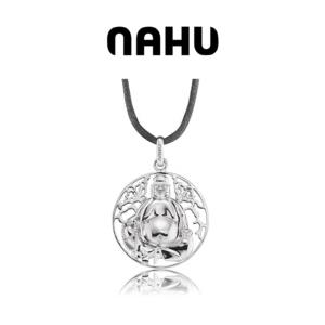 Colar Nahu Prata 925® Buddha