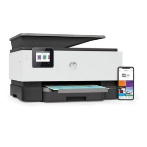 Impressora multifunções HP Officejet Pro 9010 AIO 22 ppm WIFI Fax Branco