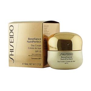 Creme Antienvelhecimento de Dia Benefiance Nutriperfect Shiseido 50 ml