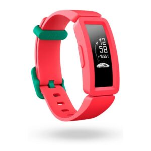 Pulseira de Atividade Fitbit Ace 2 OLED Bluetooth 4.0 Vermelho