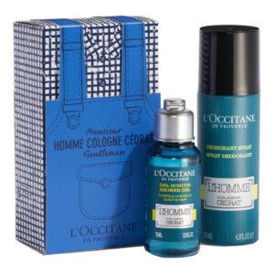 Conjunto de Perfume Homem Eau De Cedrat L´occitane (2 pcs)