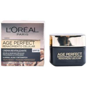 Creme de Dia Nutritivo Age Perfect L'Oreal Make Up Spf 15 (50 ml)