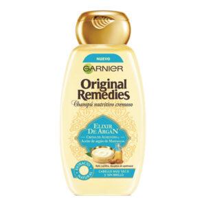 Champô Nutritivo Elixir De Argán Original Remedies Fructis (300 ml)