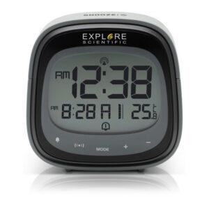 Relógio-Despertador Explore Scientific RDC-3006 LCD Preto