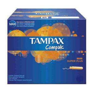 Tampão Super Plus Compak Tampax (22 uds)
