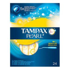 Pack de Tampões Pearl Regular Tampax (24 uds)