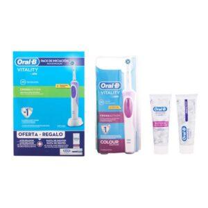 Conjunto de Higiene Oral Vitality Crossaction Oral-B (3 pcs)