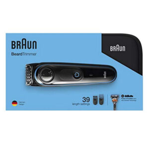 Barbeador elétrico Beard Trimmer Braun BT3940 Preto