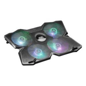 Base de Refrigeração Gaming para Portátil Mars Gaming MNBC3 RGB Preto