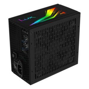Fonte de Alimentação Gaming Aerocool LUXRGB650M RGB 650W Preto