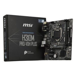 Placa Base Gaming MSI H310M PRO-VDH PLUS mATX LGA1151