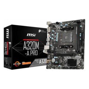 Placa Mãe MSI A320M-A Pro mATX DDR4 AM4