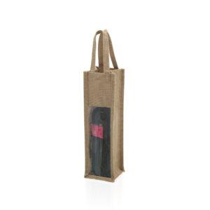 Bolsa para Garrafa de Vinho (75 cl) 143480 Bege