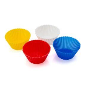 Formas de Silicone para Cupcakes (4 pcs) 143983 Multicolor