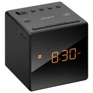 Rádio Despertador Sony ICFC1B Preto