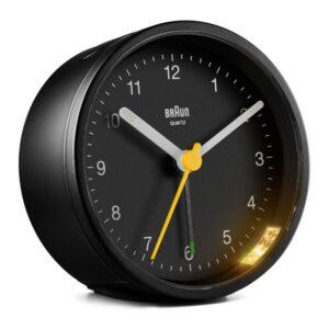 Relógio-despertador analógico Braun BC-12-B Preto