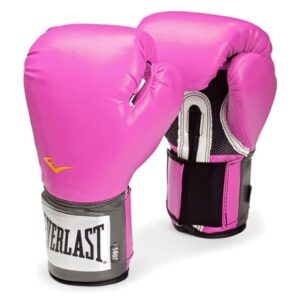 EVERLAST Luvas para treino de boxe Pro Style 10 oz rosa - PORTES GRÁTIS