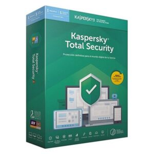 Antivírus Kaspersky Total Security MD 2020 1 licença
