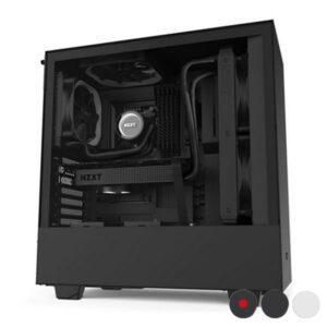 Caixa Semitorre Micro ATX / Mini ITX / ATX NZXT H510 Preto/Vermelho