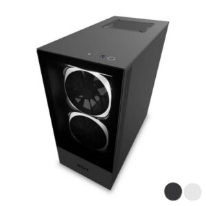 Caixa Semitorre Micro ATX / Mini ITX / ATX NZXT H510 Elite LED RGB Preto