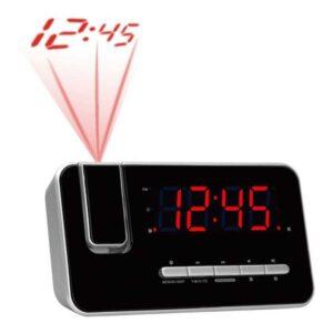 Rádio Despertador Denver Electronics CRP-618 FM Preto